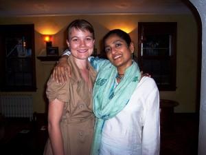 L-to-R: Jessica Briggs, Ananya Chatterjea