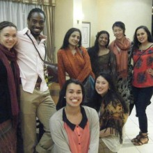 Renée Copeland, Orlando Hunter, Alex Eady, Ananya Chatterjea, Rose Huey, Chitra Vairavan, Hui Wilcox & Brittany Radke • Jameson Hotel, Harare, May 2013