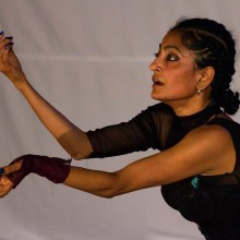 "Ananya Chatterjea in ""Moreechika"" in Port-of-Spain, Trinidad, July 2012"