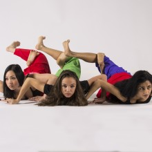 Kealoha Ferreira, Renée Copeland, Ananya Chatterjea • Photo by V. Paul Virtucio