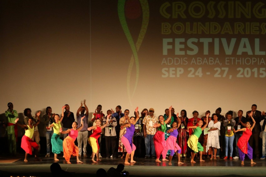 ADT at Crossing Boundaries Festival opening ceremony, Sept. 24, 2015. Photo by Crossing Boundaries Ethiopia