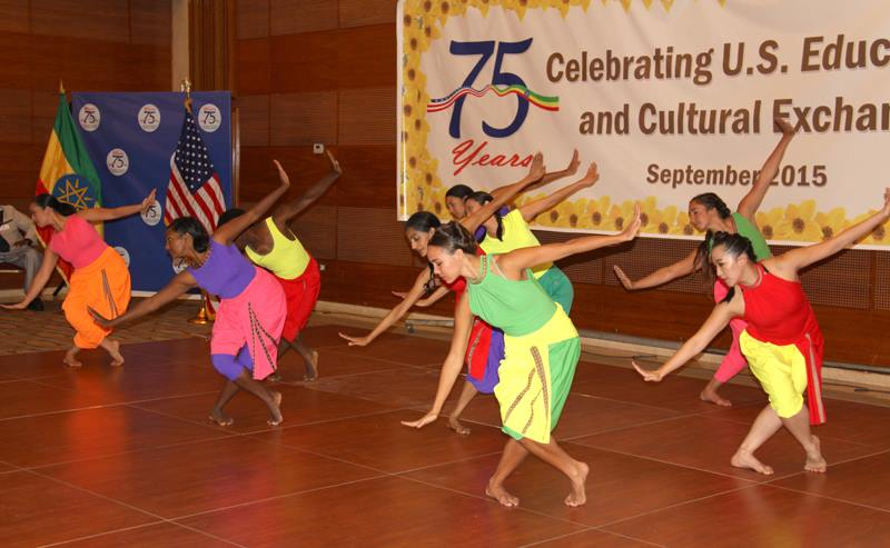 Ananya Dance Theatre at U.S. Embassy Reception, Hilton Hotel, Addis Ababa. Sept. 24, 2015. Photo by U.S. Embassy