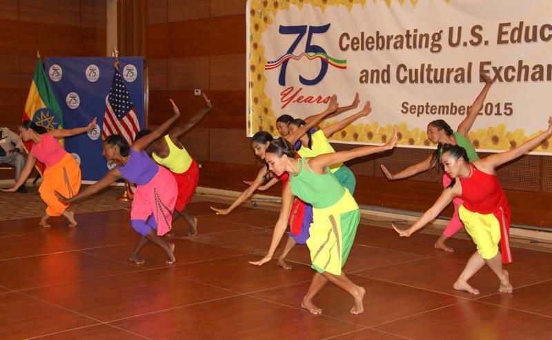 Ananya Dance Theatre at U.S. Embassy Reception, Hilton Hotel, Addis Ababa. Sept. 24, 2015. Photo by U.S. Embassy